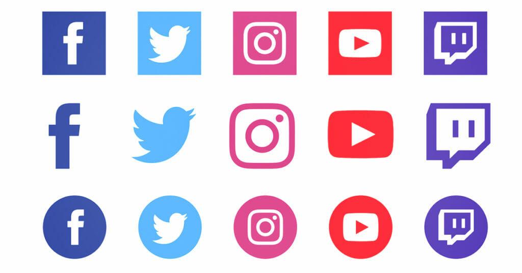 social media icons main